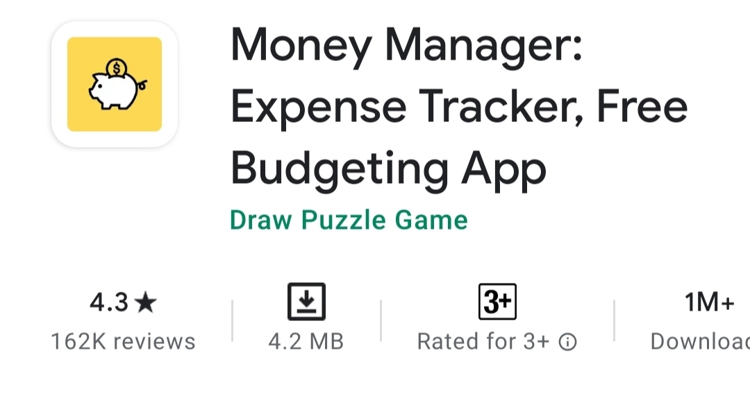 Money Manager  Expense Tracker & Free Budgeting App