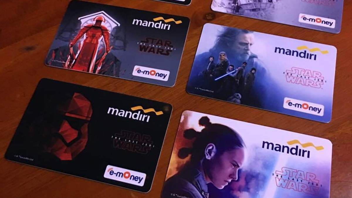 e-money Mandiri edisi khusus Star Wars